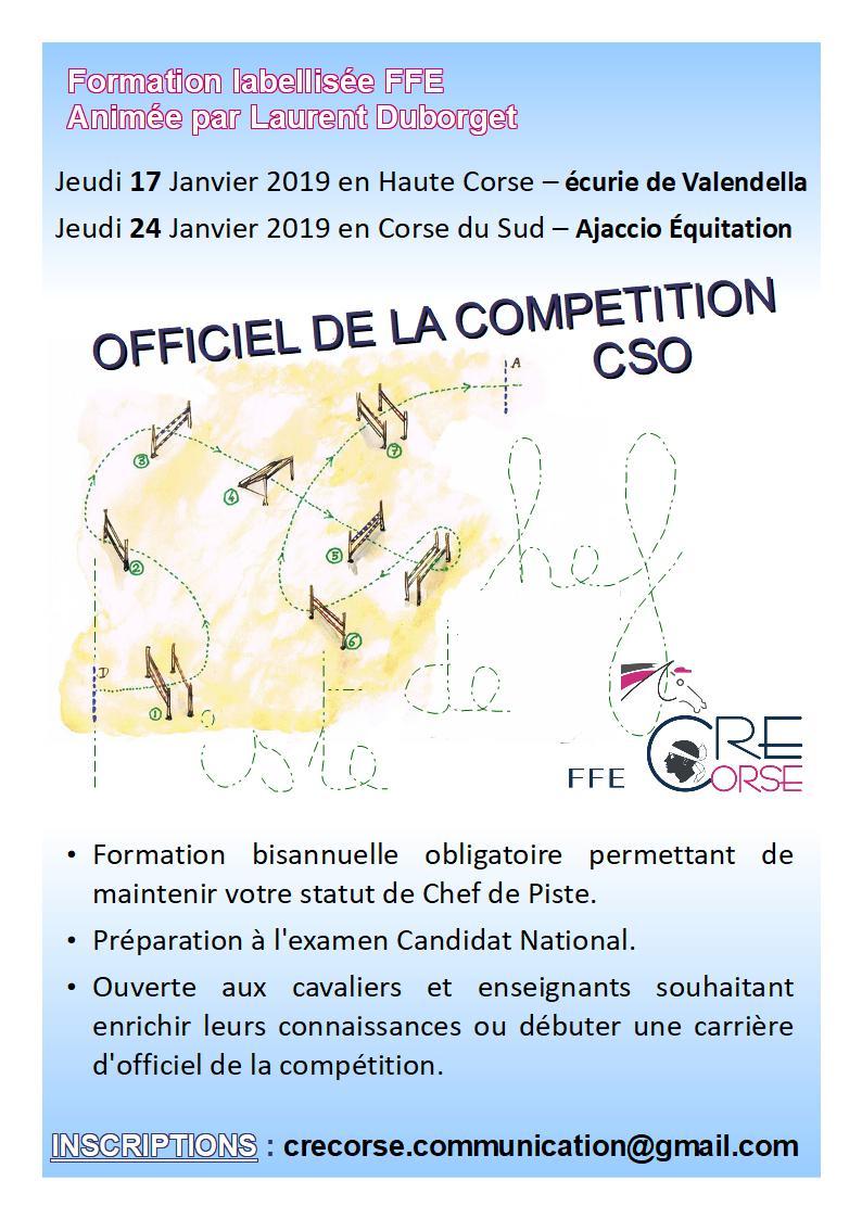 Formation 2019 -           Chef de piste CSO