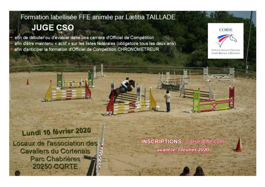 Officiel de Compétition - Juge CSO