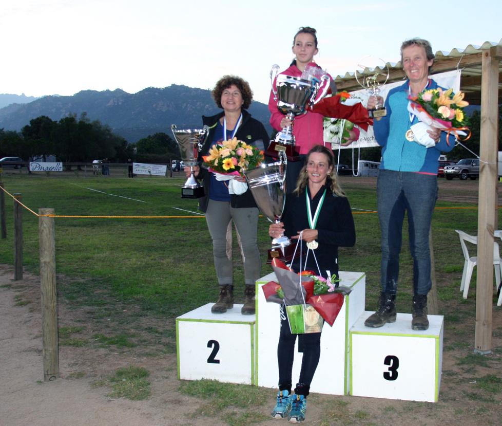 Résultats Championnat d'Endurance du 18 octobre 2015