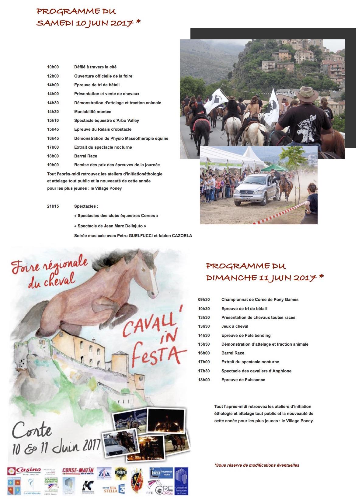 Cavall'in Festa 2017