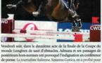 Scandale lors des finales de la coupe du monde Longines de saut d'obstacles