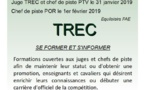 Formation 2019 - TREC - Juge - Chef de piste PTV et POR