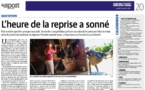 Article Corse Matin du 26  août 2021