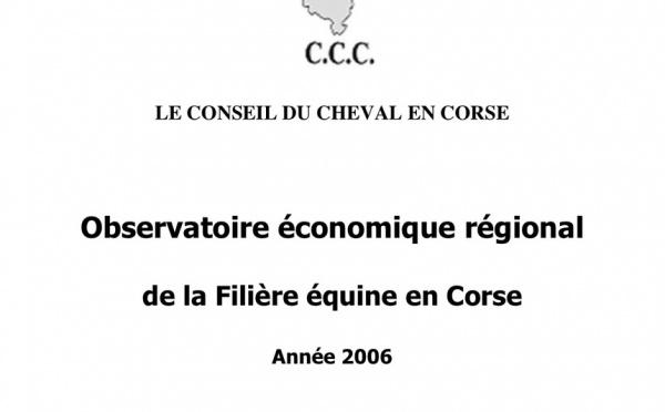 OER de la Filière équine Corse 2006