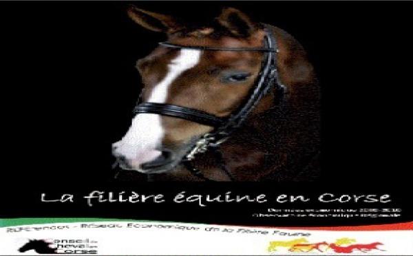 OER de la filière équine Corse 2009-2010