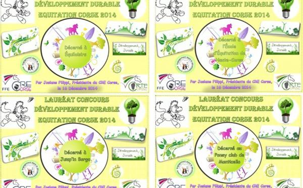 Résultats concours Développement Durable